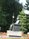 Statue of Paderewski at the entrance to my favorite Warsaw park, Park Ujazdowski.