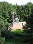 Statue of Chopin in Łazienki.