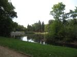 Back to Park Ujazdowski--the lake.