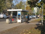 Some women at a bus stop on ul. Namysłowska. I'm getting better at taking surreptitious pictures.