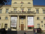 Town hall, Lublin. Note the Kongres Kultury--that's why the theater festival is happening...