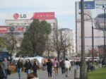 More Varsovians en route to the metro.