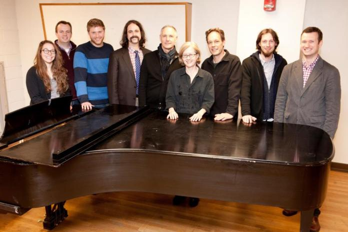Composers, librettists, and mentors.