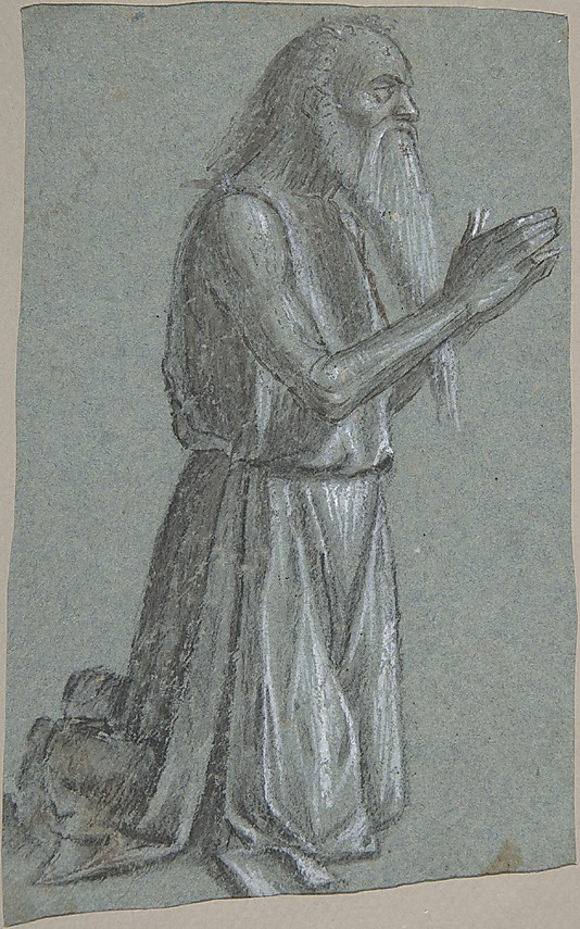 """Saint Jerome (recto); Soldier with a Spear (verso),"" Vittore Carpaccio: the Met's Artwork O' The Day for August 23, 2014."