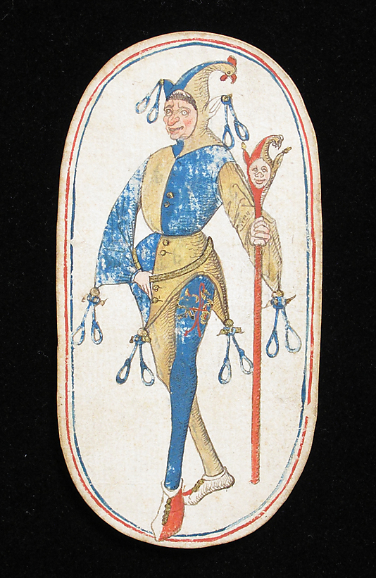 """Playing Card with a Knave""--the Met's Artwork O' the Day for Aug 9, 2014. Link below."